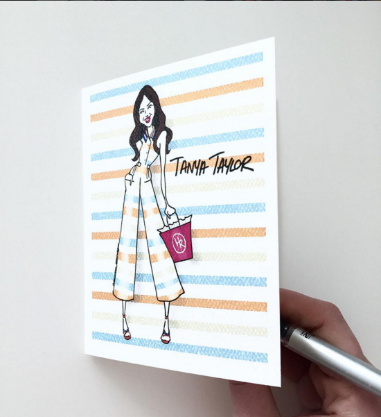 Tanya Taylor (custom cards) | 2016