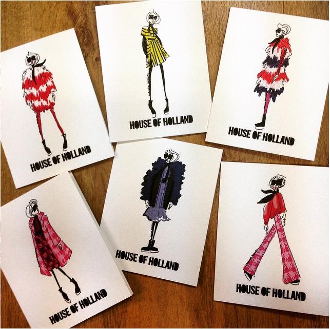 House of Holland (custom cards) | 2015
