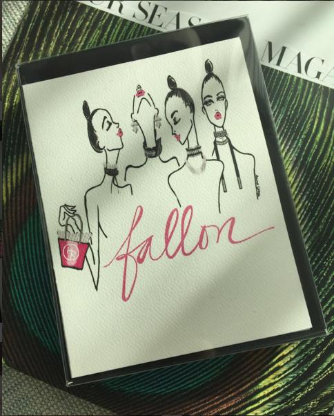 Fallon Jewelry (custom cards) | 2016