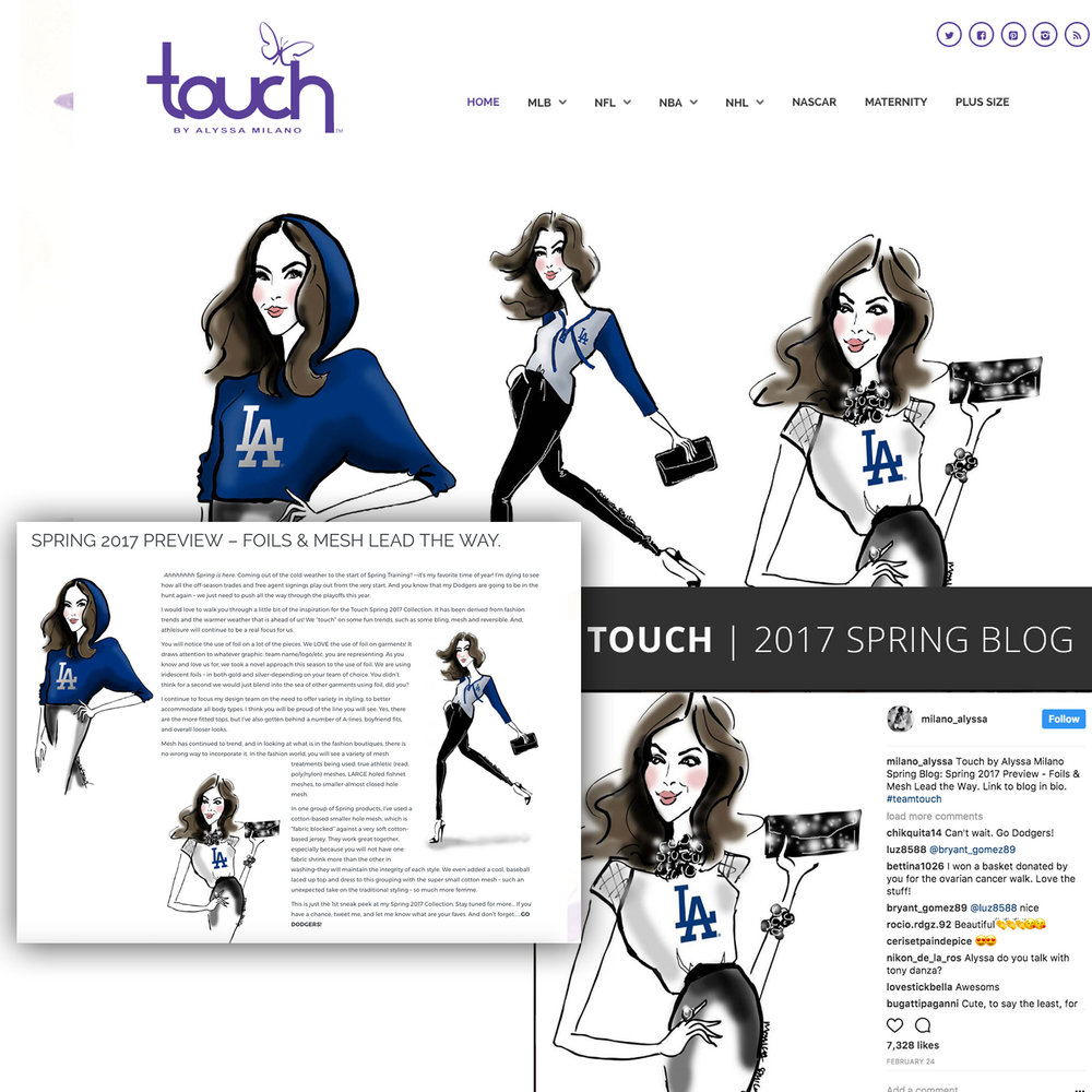 Touch by Alyssa Milano | April 2017