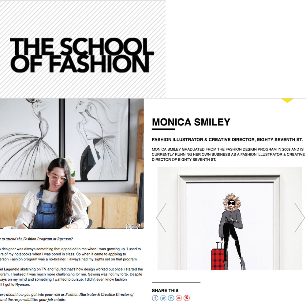 Ryerson School of Fashion | February 2018