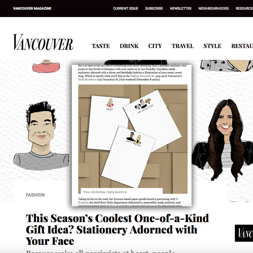 Vancouver Magazine | December 2018