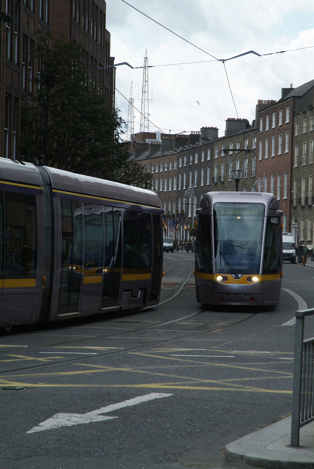 Luas at Harcourt Street