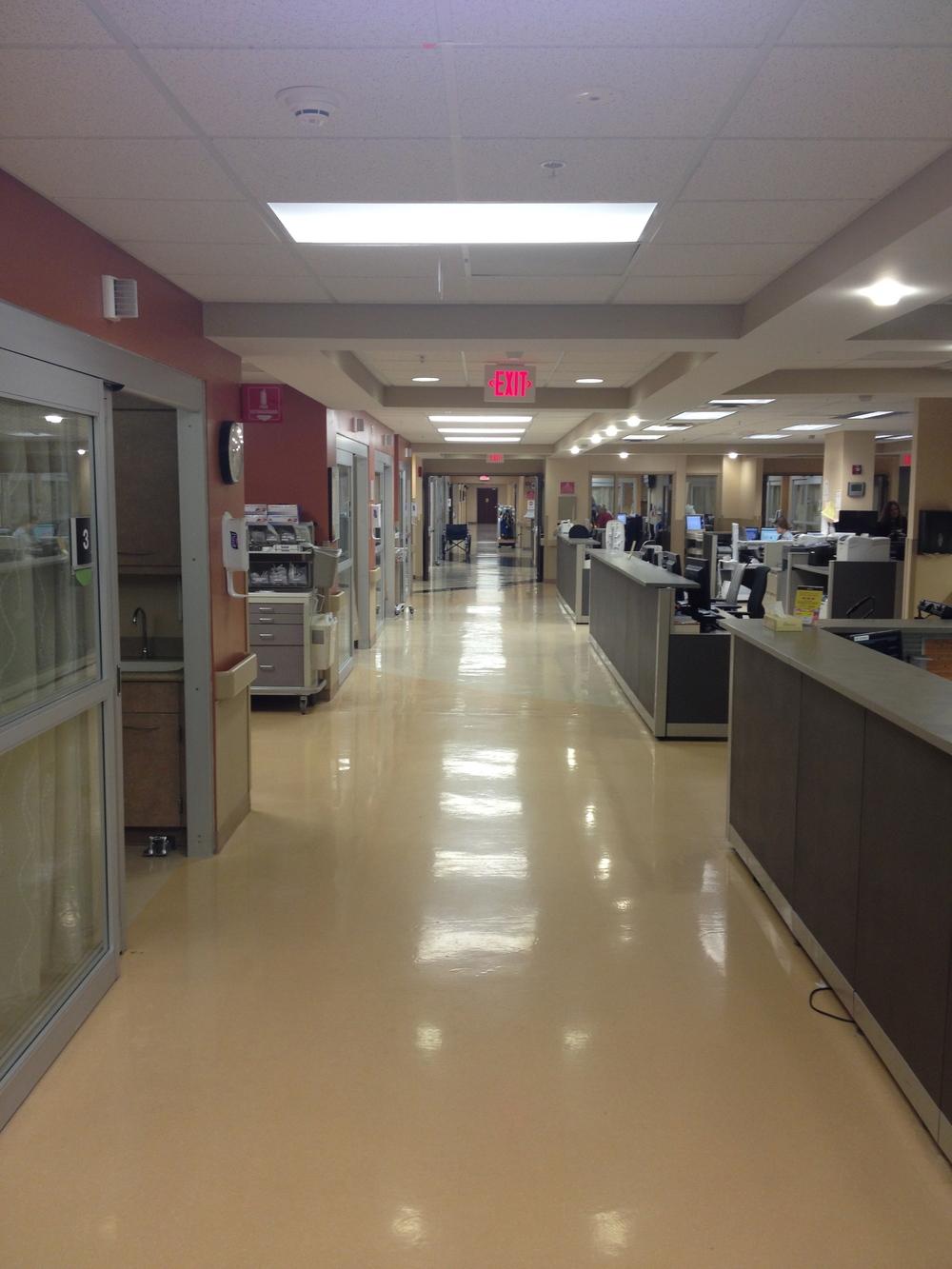ED corridor
