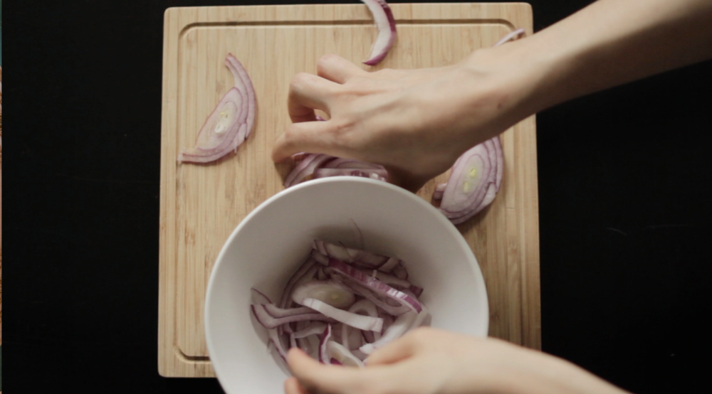 Making Cebolla enescaveche