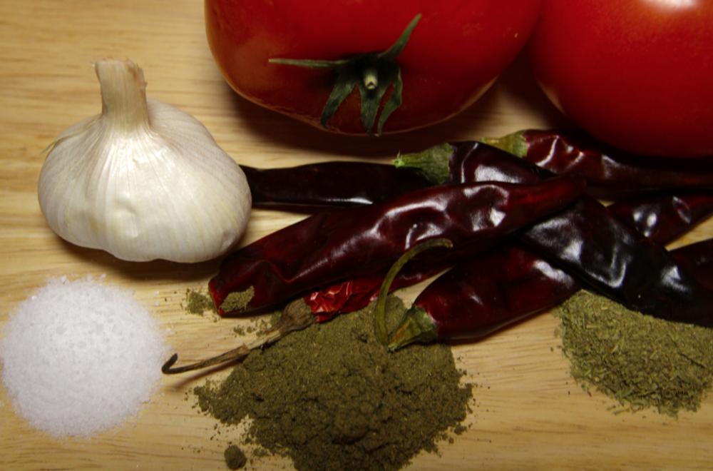 Salsa taquera ingredients