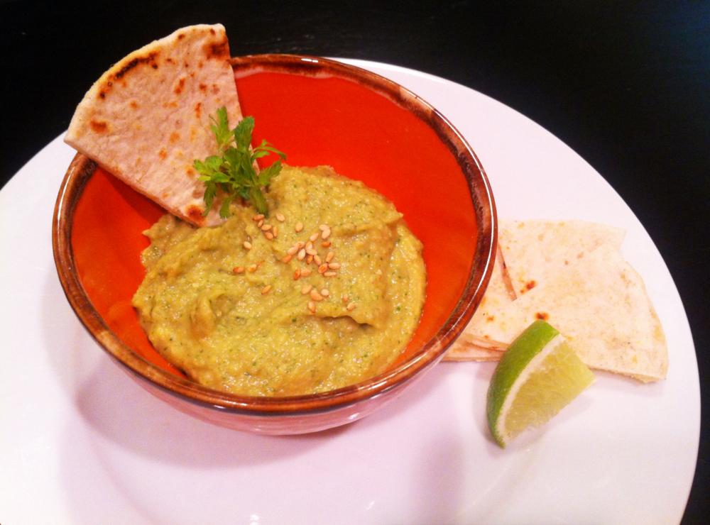 Cilantro Hummus