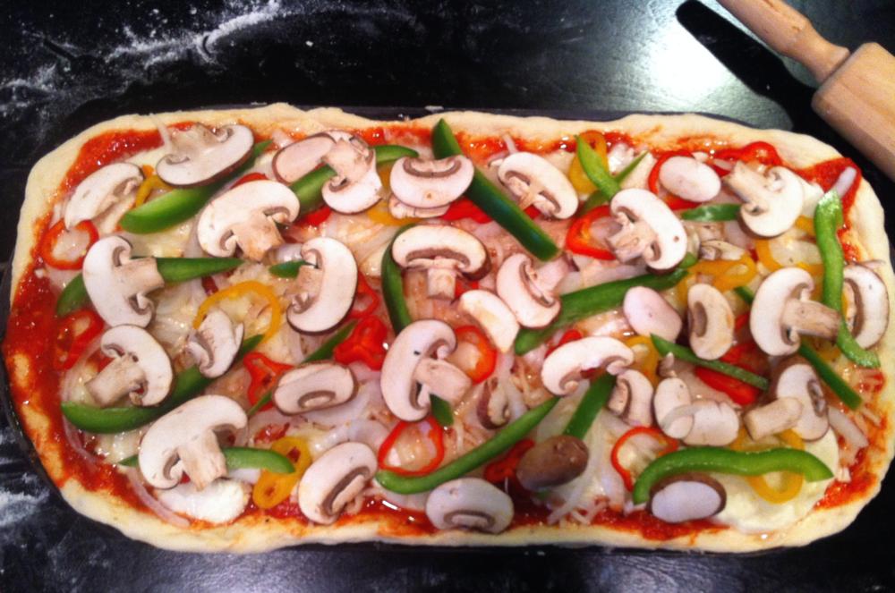 veggie pizza adriana guillen