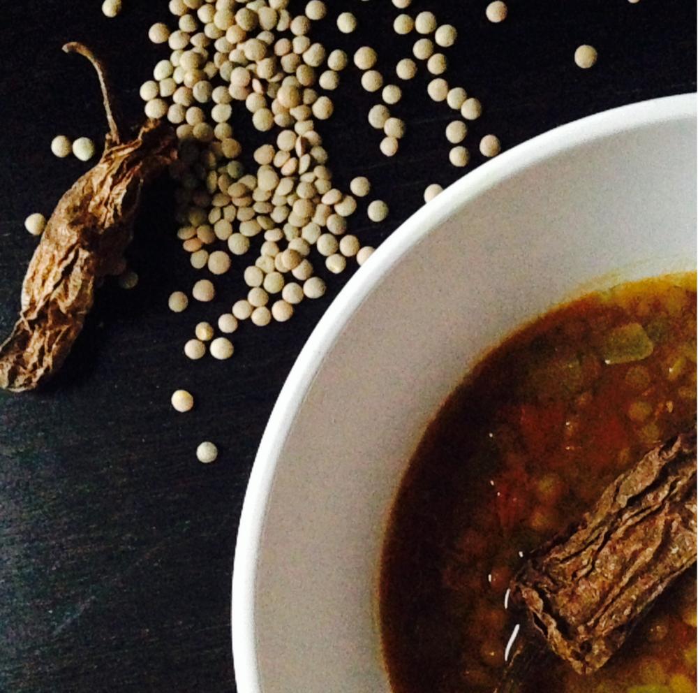 chipotle lentil soup adriana guillen