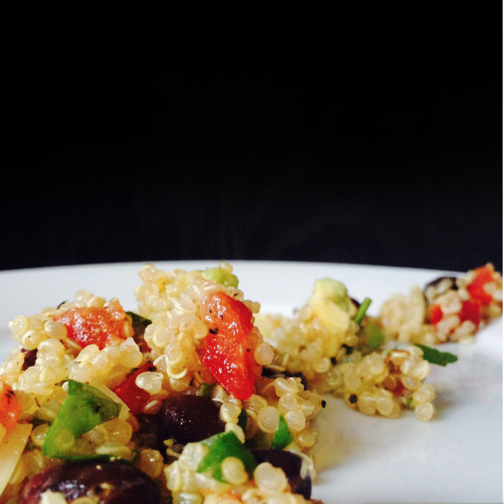 quinoa salad adriana guillen