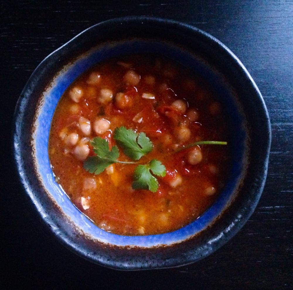 sopa de garbanzo soup