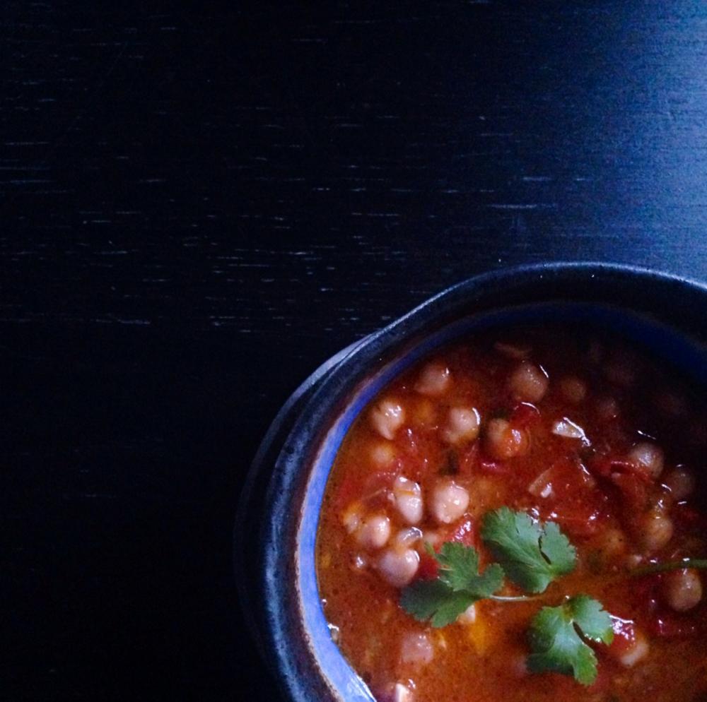 garbanzo soup sopa adriana guillen