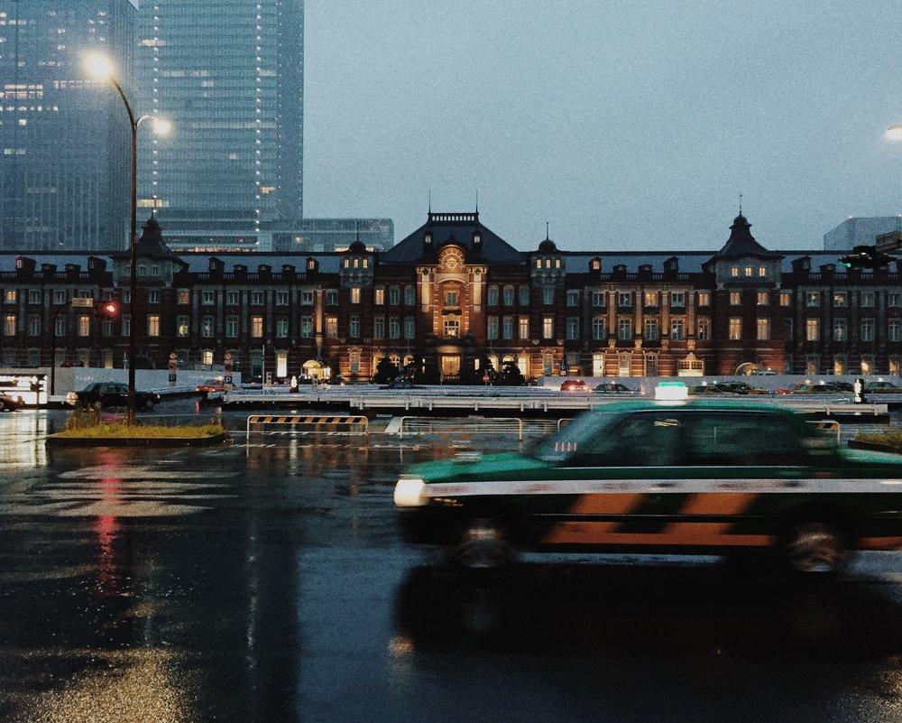 Tokyo Station, Autumn 2014.