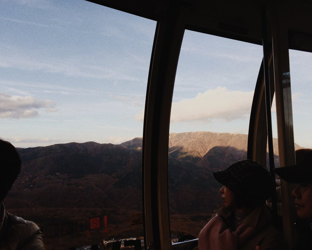 Hakone, Autumn 2014.