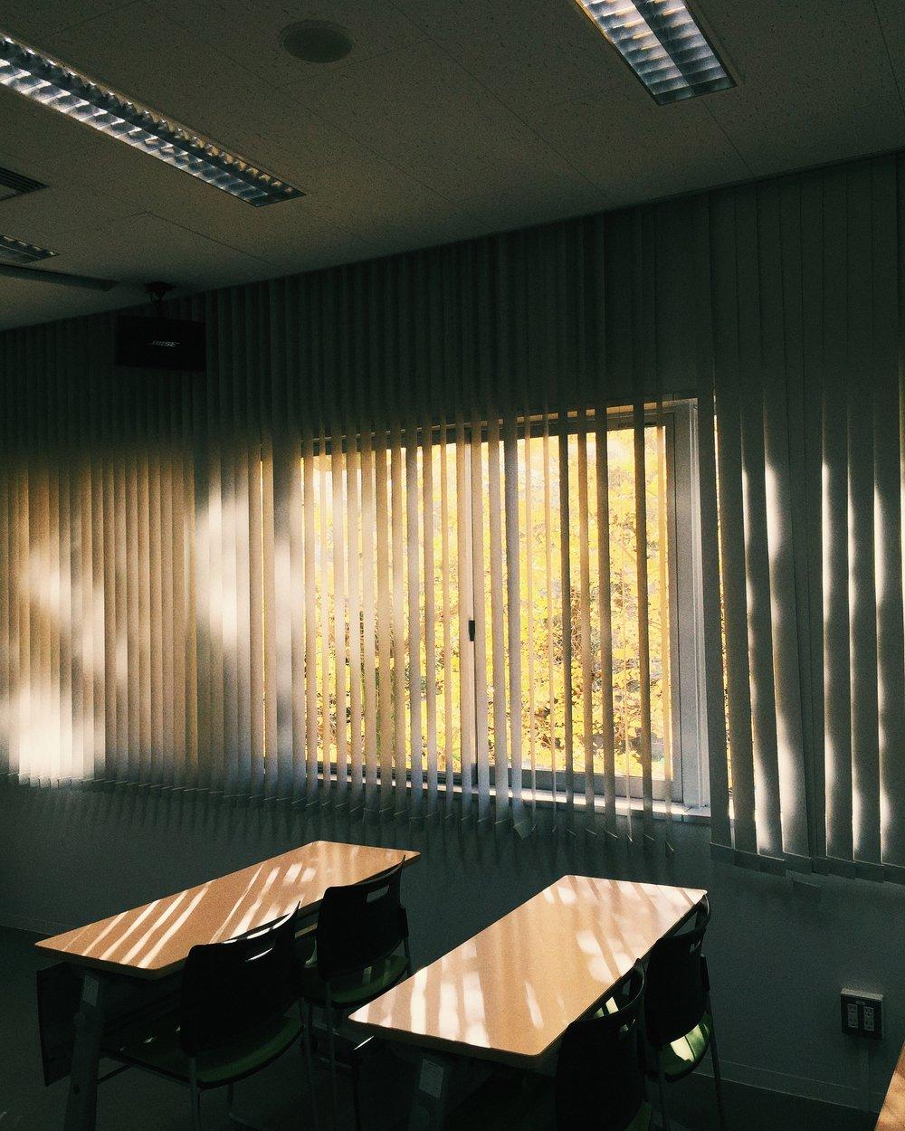 Classroom, Autumn 2014.