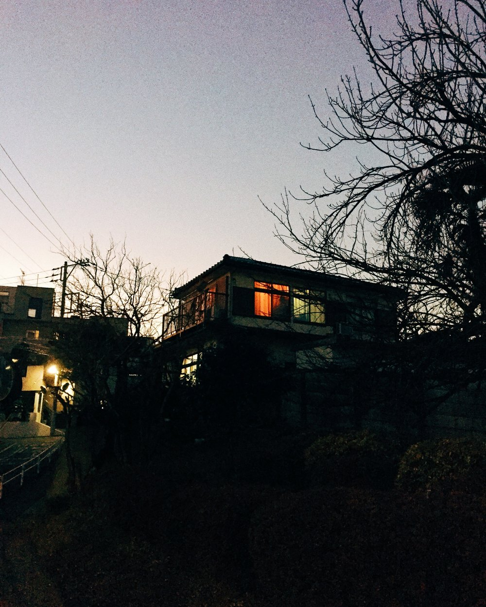 Shinkawa-dori, Winter 2015.