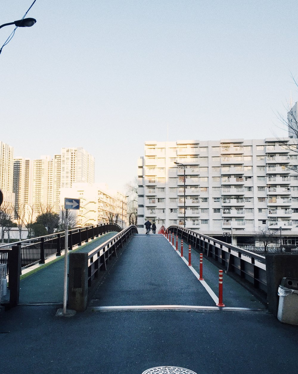 Shinagawa, Winter 2015.