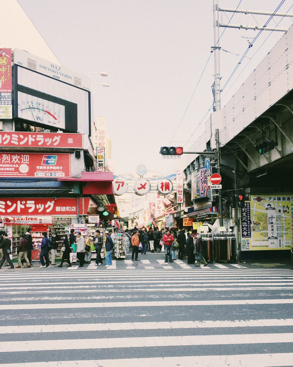 Ameyoko, Winter 2015.