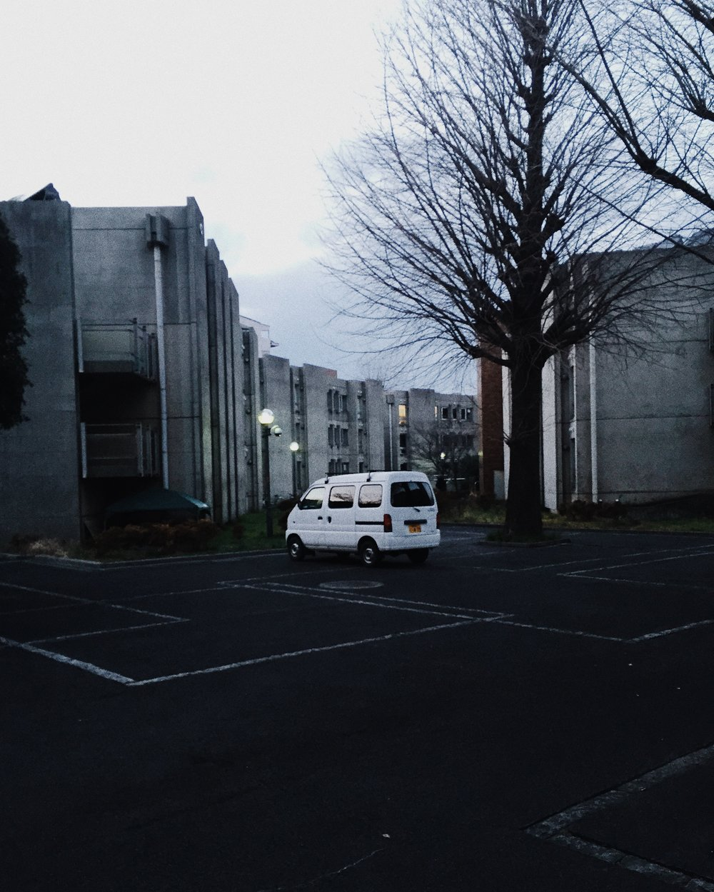 Mitaka International Hall of Residence, Winter 2015.