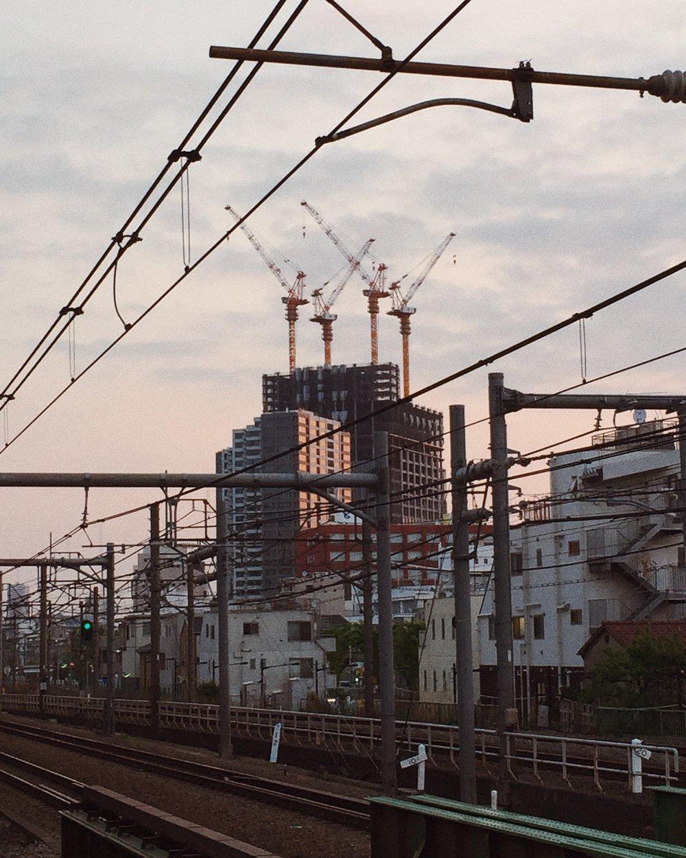 Shinjuku, Spring 2015.