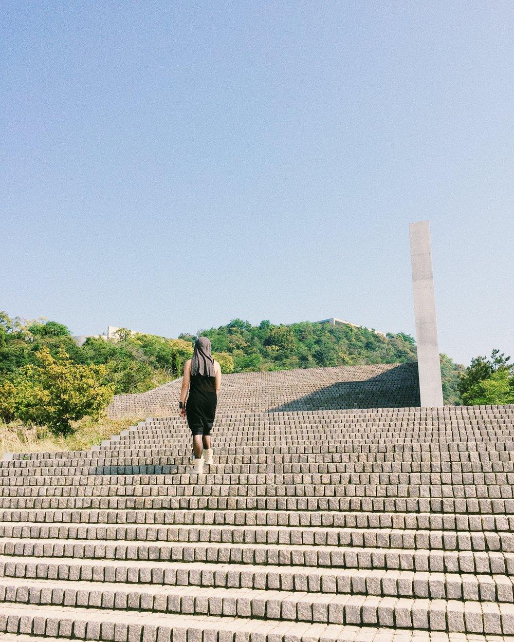 Bobo. Naoshima, Spring 2015.