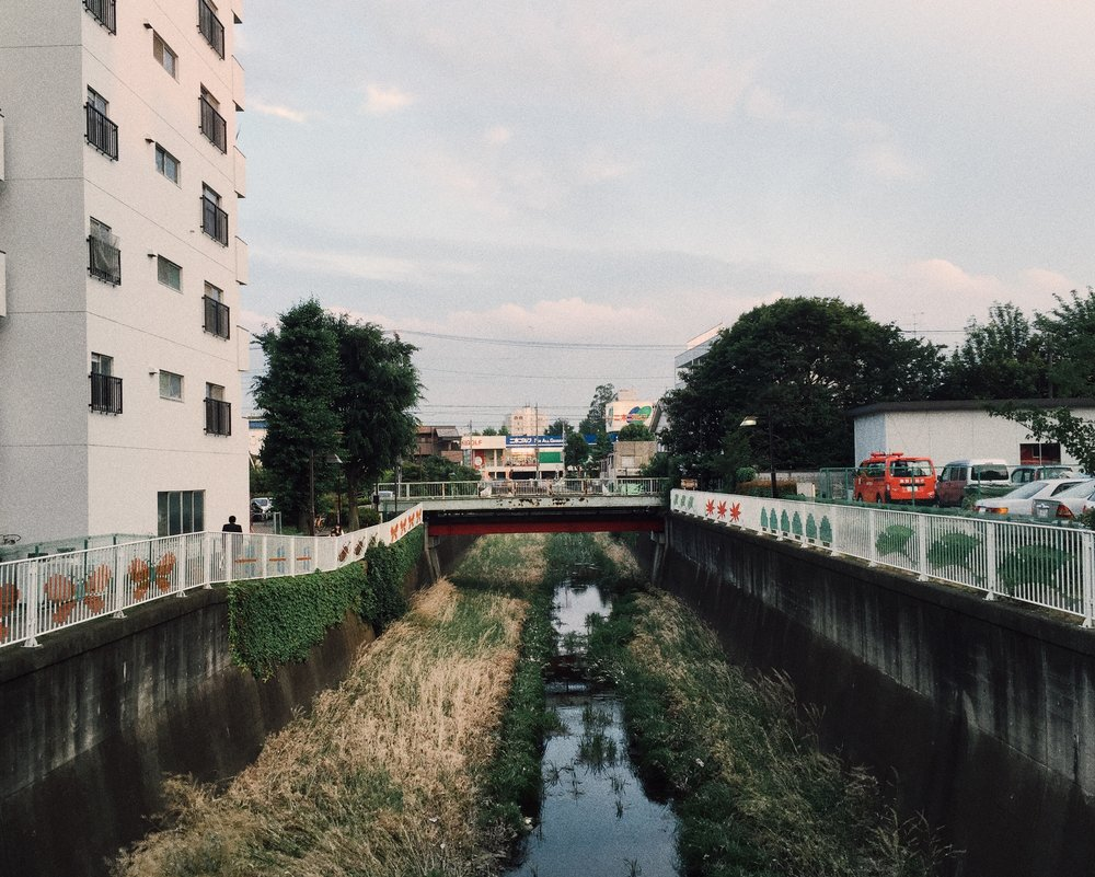 Shinkawa-dori, Summer 2015.