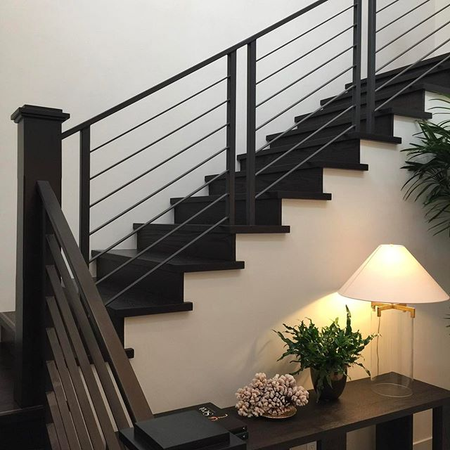 Another killer set of stairs at our Crystal Cove Project.  #warrenchristopher #warrenchristopheroc #warrenchristophercollection #woodfloor #woodfloors #woodflooring #customwood #customwoodflooring #eurooak #frenchoak #wideplank #wideplankfloors #ihavethisthingwithfloors #crystalcove #woodisgood #solidstairtreads #allinthedetails