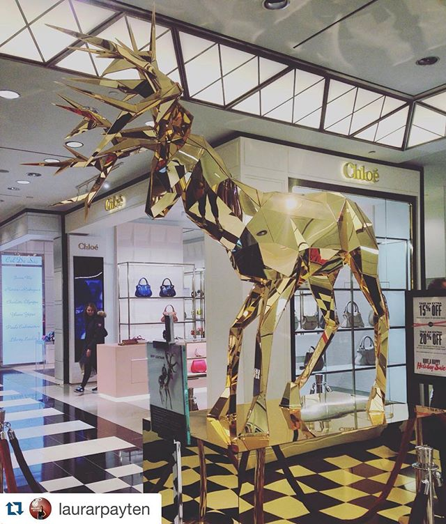 I spy with my little eye... @chloe shop in shop at Bloomingdale's 59th street! Go check out their Spring 2016 Collection! 😄👝👜🎒👛 📷: @laurarpayten