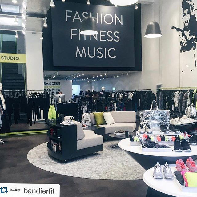 Brighten up your winter with some fresh workout gear from @bandierfit's new 5th Ave location! ・・・ Repost @bandierfit: 5th Avenue... We out here! :: BANDIER Flatiron is now open at 164 5th Avenue :: #bandierfit