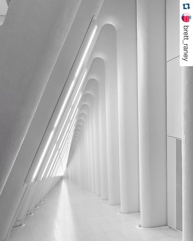 The #SantiagoCalatrava designed @wtc transit hub is scheduled to open TOMORROW. Go see it and check back in August when the Oculus opens with a few stores designed by us! 📷: @brett_raney