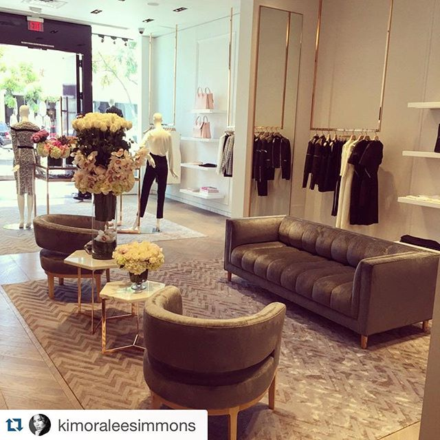 #flashbackfriday to the opening of @kimoraleesimmons Beverly Hills Boutique!