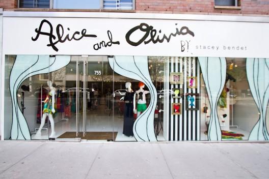 Alice + Olivia Pop Up Shop