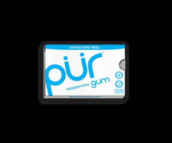 Aspartame-free PUR gum!