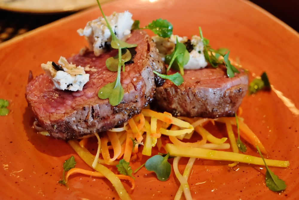 The Bistro filet. It tastes even better than it looks.