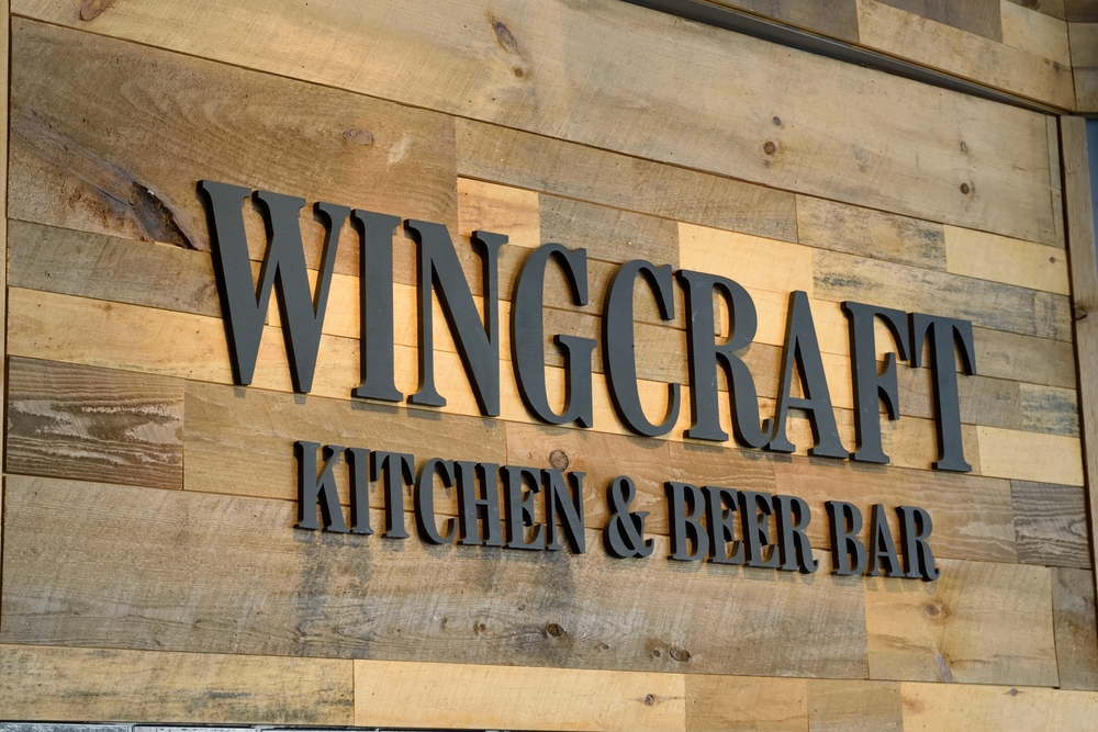 Welcome to Wingcraft, you'll love their burgers!