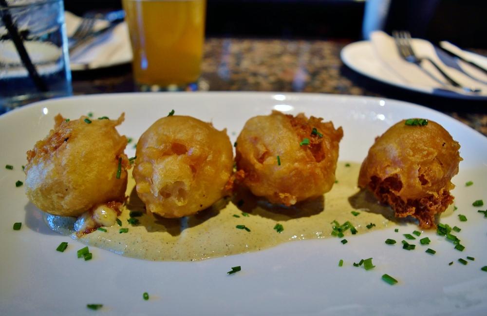 Cheese Lollipops - aka little balls of culinary joy.