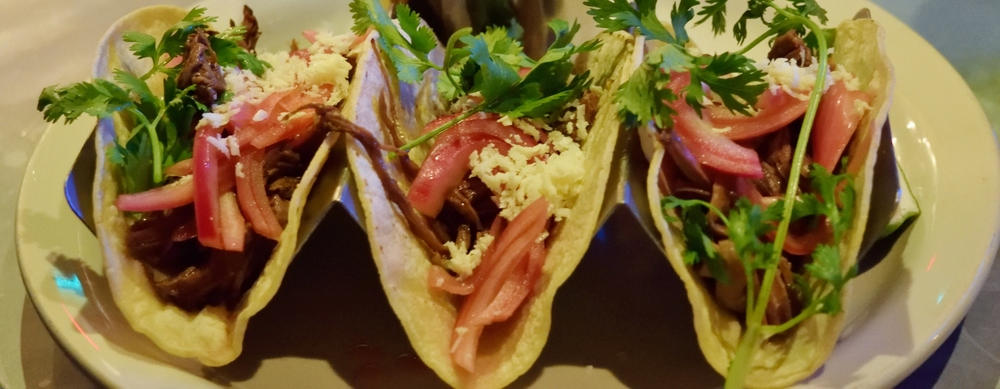 Short Rib Tacos? More like short rib yum yums.