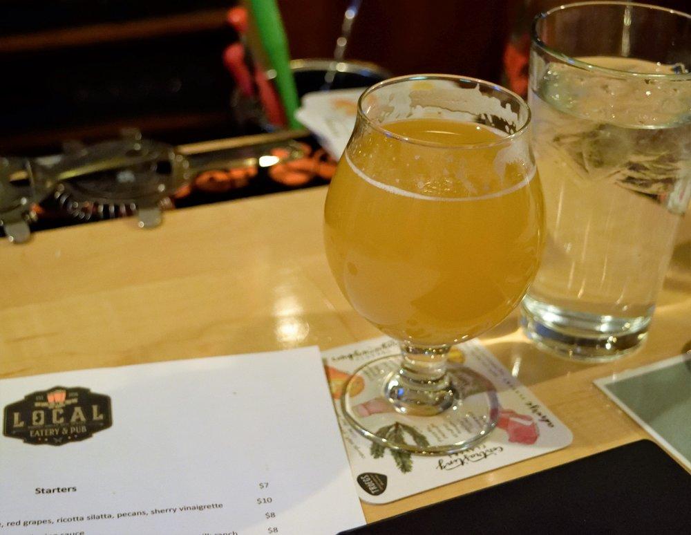 Tonewood Brewing's Fuego IPA