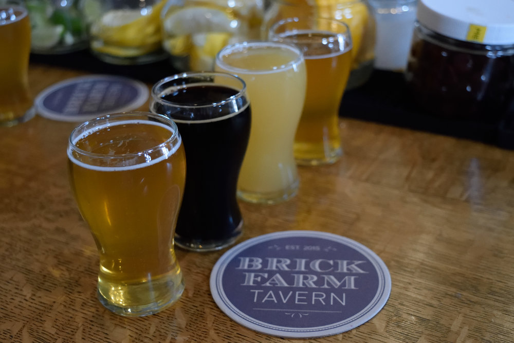 Welcome to Brick Farm Tavern & Troon Brewing - your taste buds will thank you.