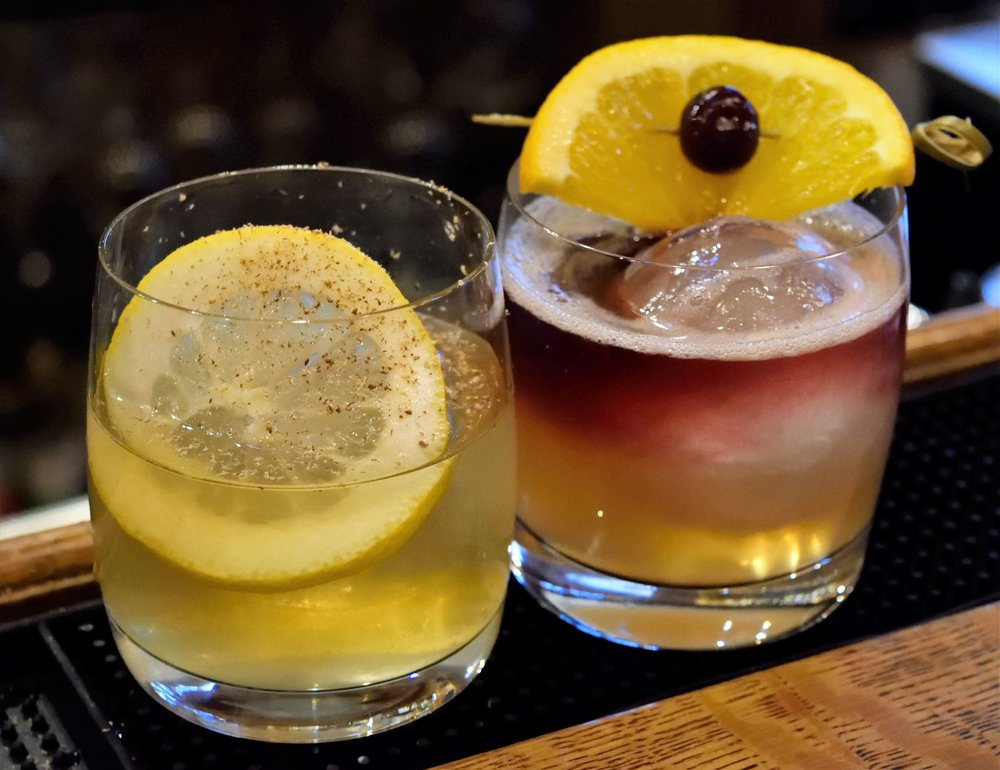Dan, bartender at Brick Farm Tavern, will creatively concoct some visually stunning drinks.