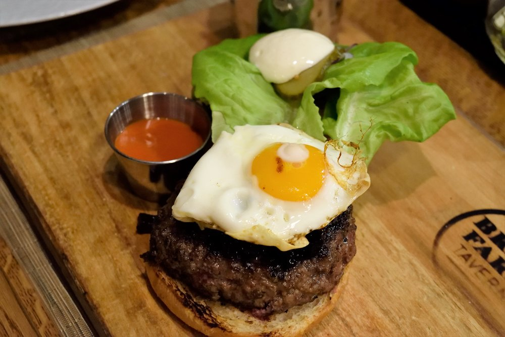This burger is definitely something special.