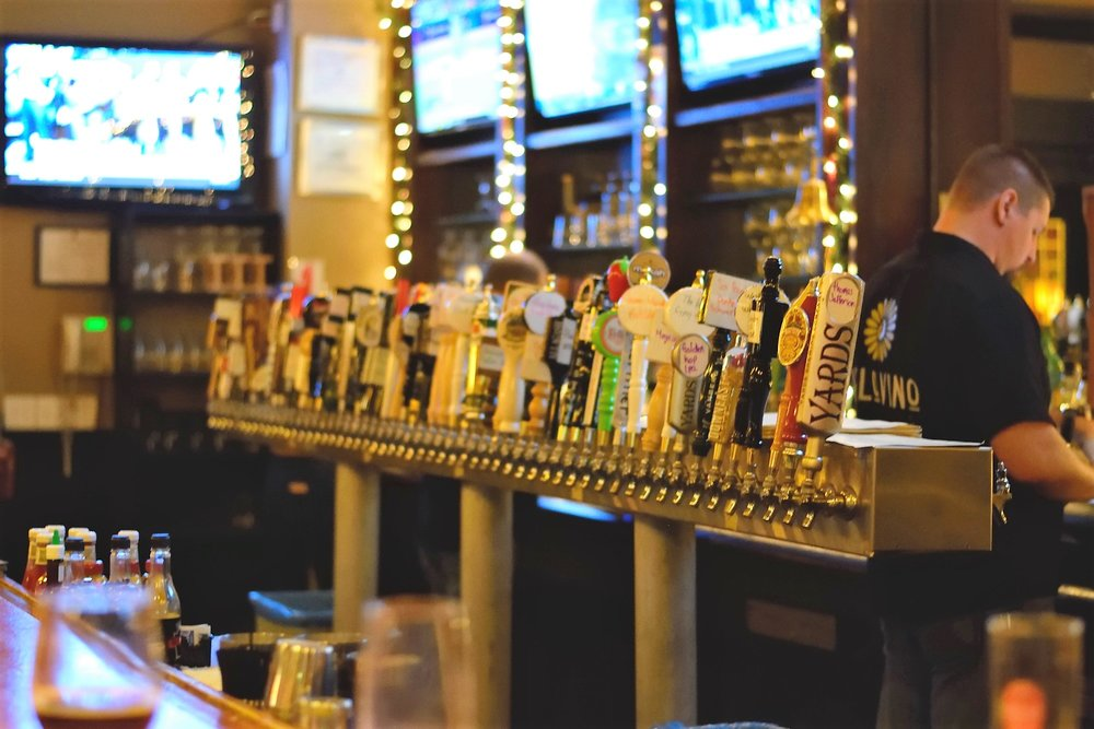 That's not even half of the taps................