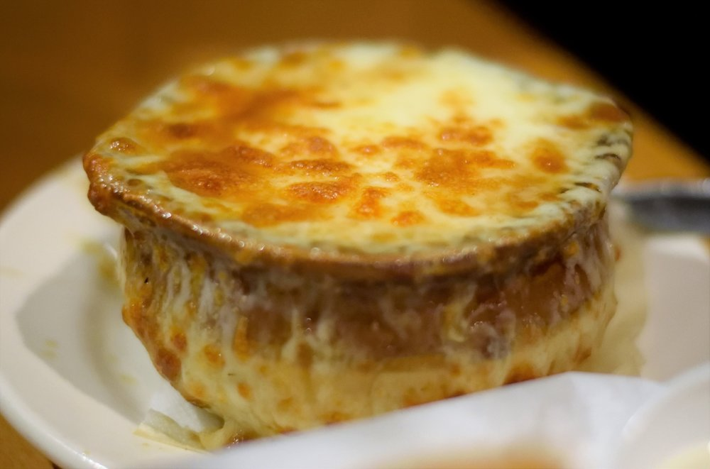 French Onion Soup is a must try!