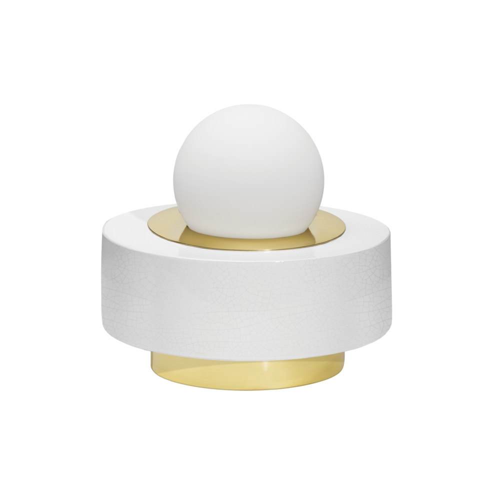 1.02 Blanc - lampe à poser