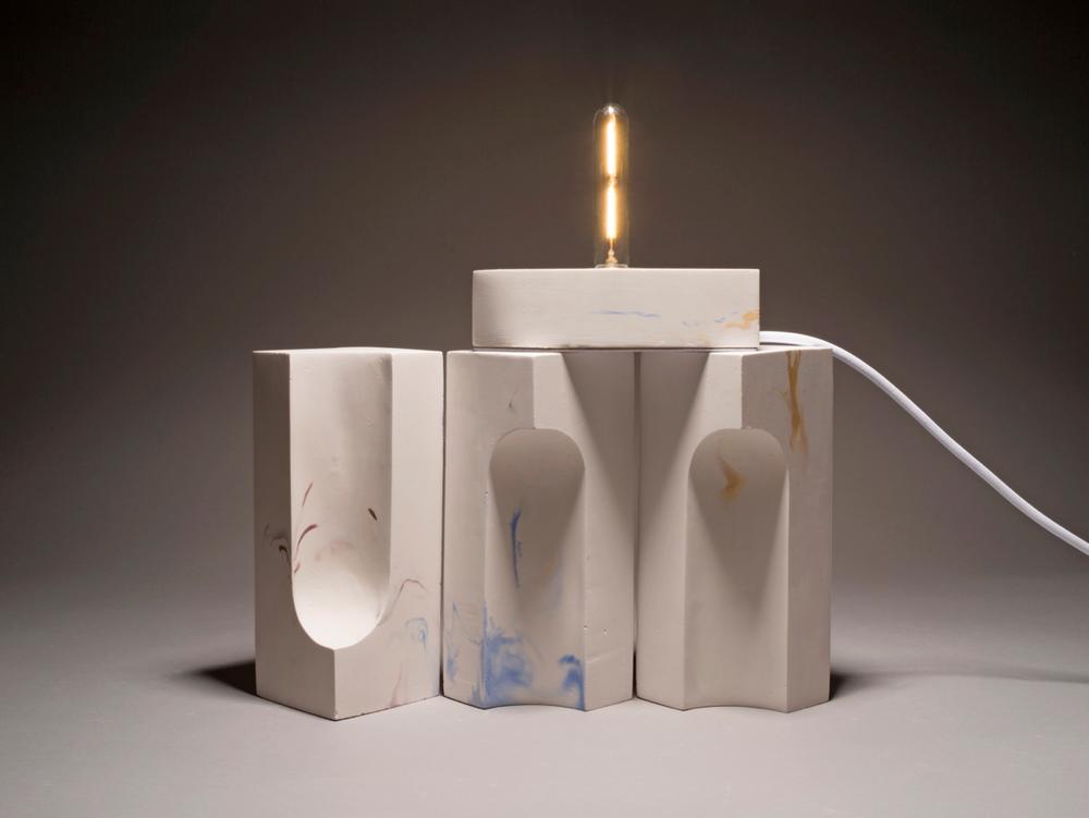 Éléments - Lampe à poser modulaire