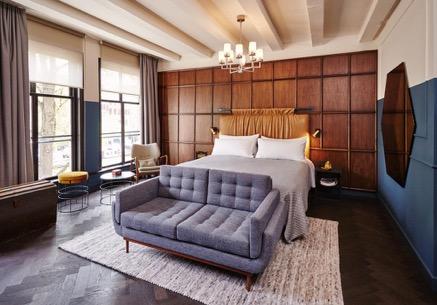 Notre sélection d'hôtels design -