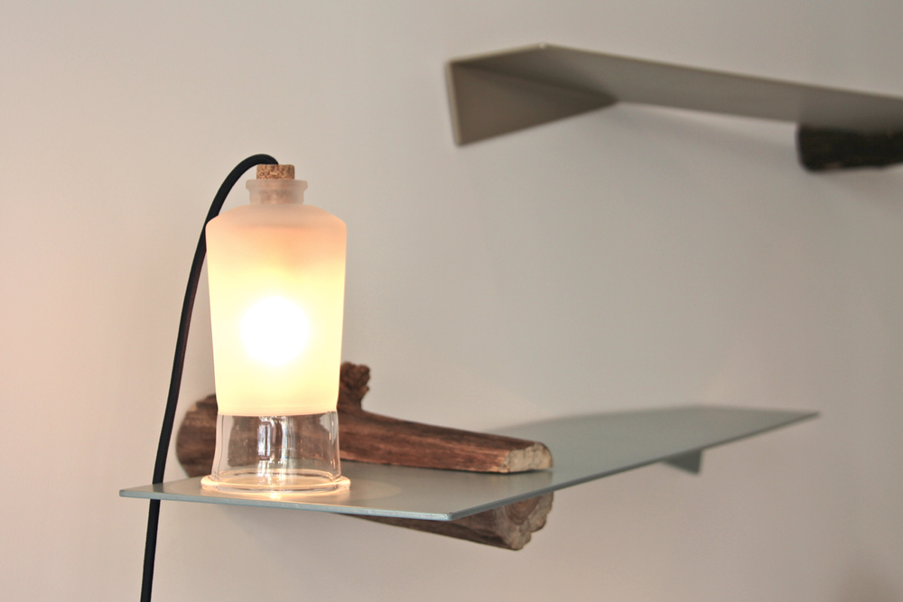 Le verre, une tendance en design luminaire  -