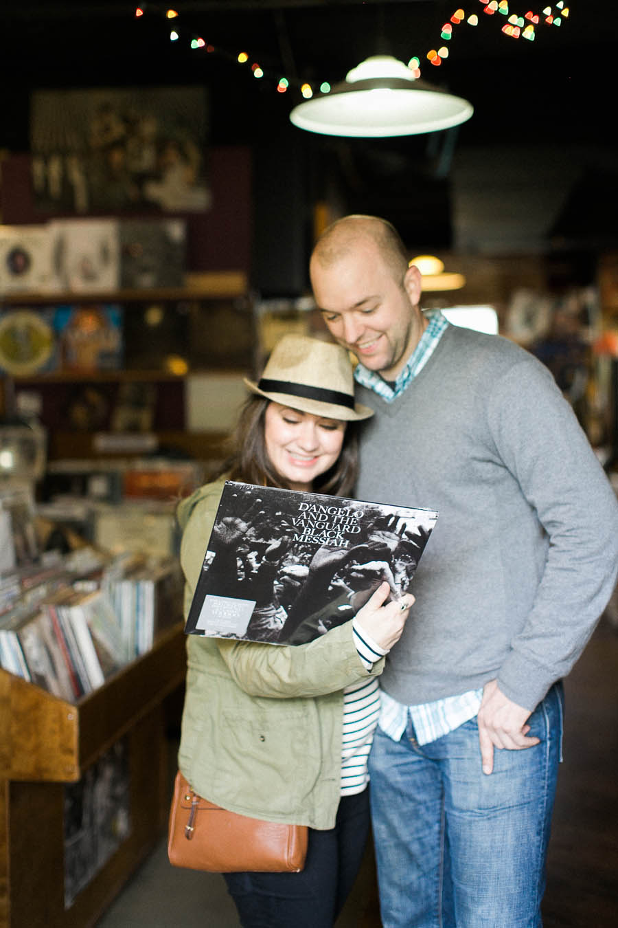 nashville documentary bookstore record shop engagement session relaxed film photographer ©2016abigailbobophotography-23.jpg