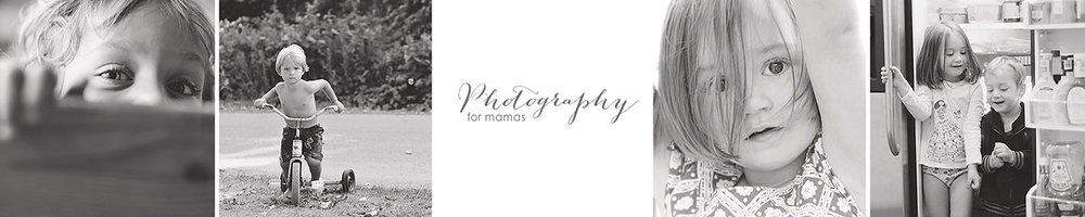 Photography For Mamas Banner