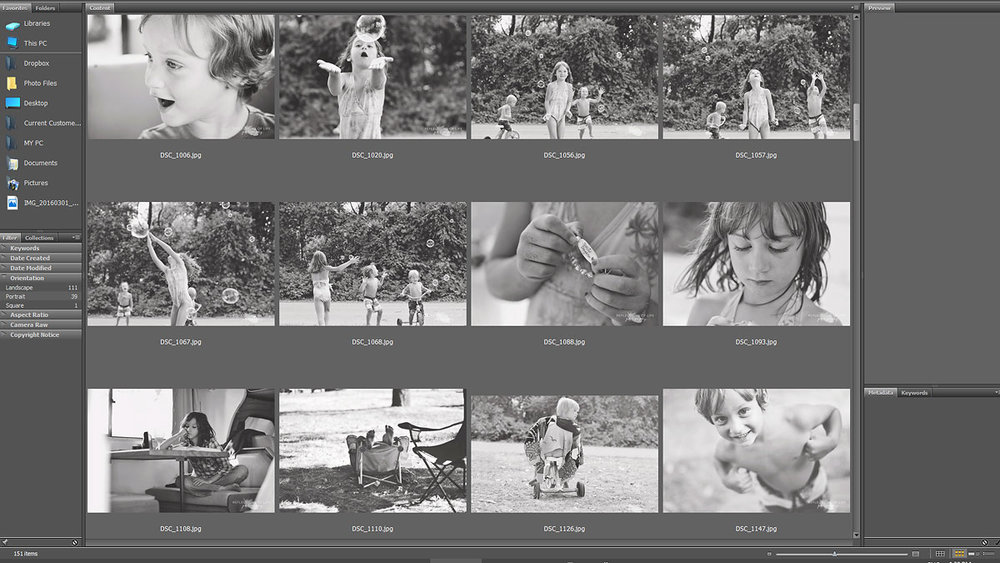 How to organize your family photos and select keepers